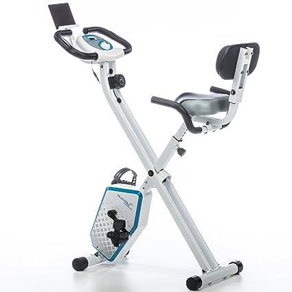 skandika Foldaway X-1000 PLUS - bicicleta estática de fitness - plegable - Bluetooth +