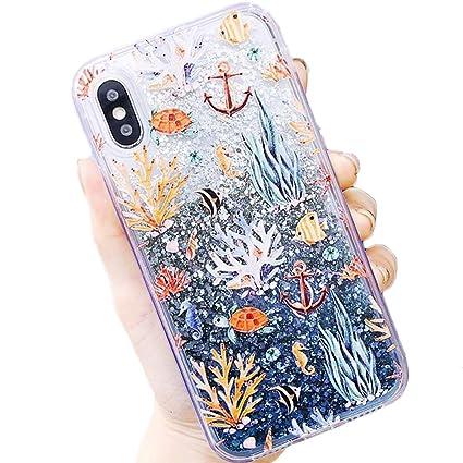 Amazon.com: Coral Reef Sea Life Anchor Ocean Tropical ...