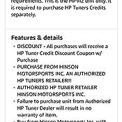 HP Tuners MPVI2 (M02-000-00), Black/Grey