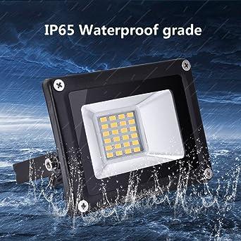 6000K blanco Fr/ío,Certificado CE,FCC,L/ámpara para Jard/ín Bodega y Patio Garaje Clase de e Shinning-Star 20w Led Foco Proyector,Foco de sensor ultradelgado,Led Floodlight para Exterior Iluminaci/ón Decoraci/ón/IP 65