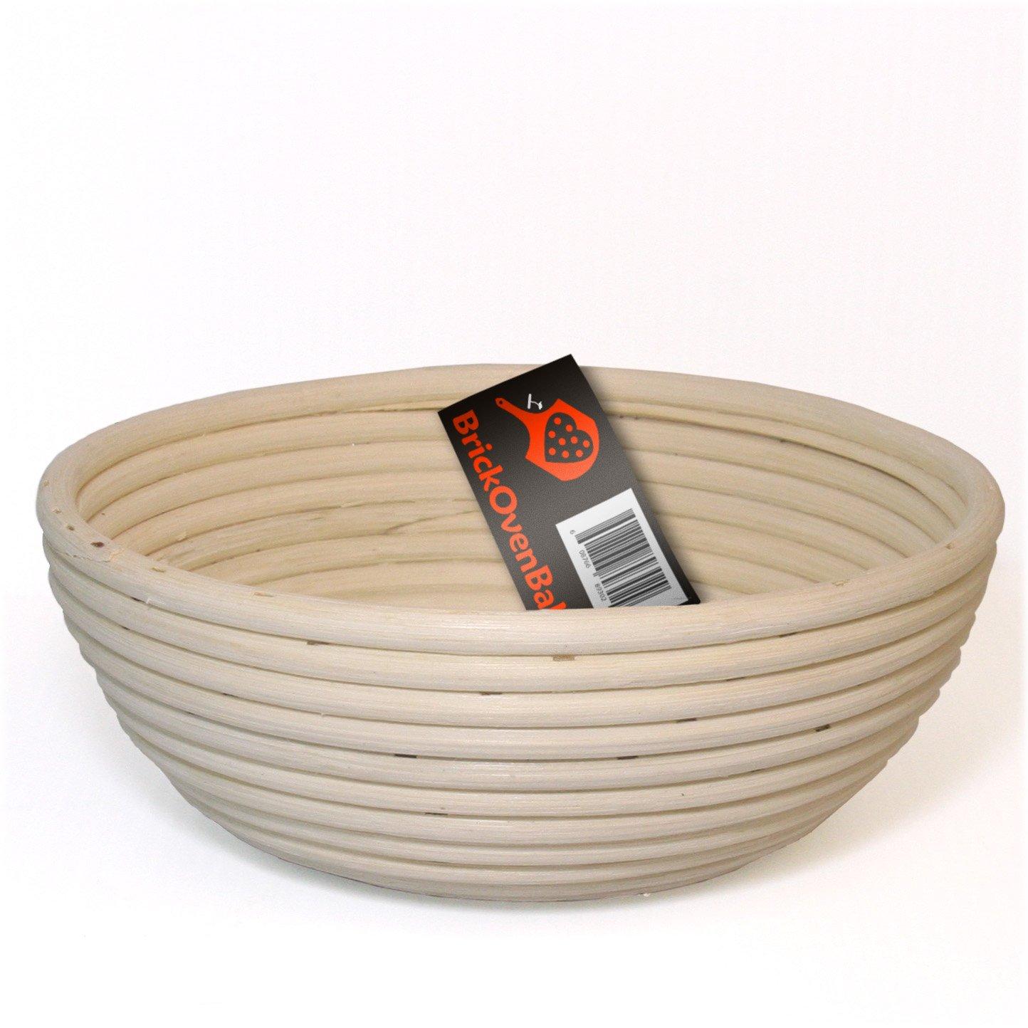 BrickOvenBaker 9-inch Round Banneton Proofing Basket TG-0041