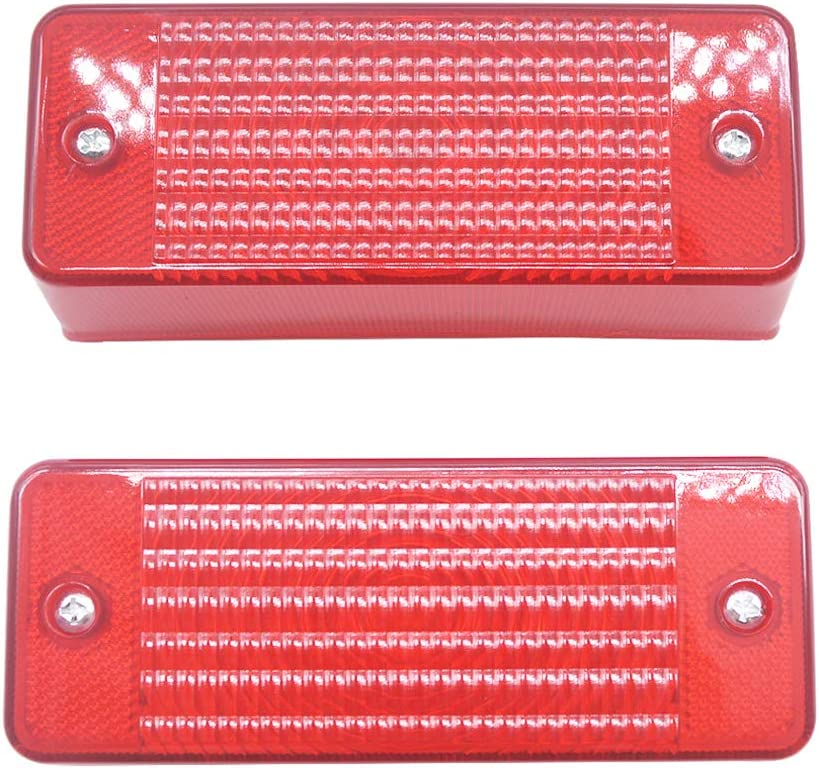 2 Pcs Rear Tail Light Lens 6672276 for Bobcat Skid Steer Loader A300 S100 S130 S150 T110 T140 T180 T190 T200 T250