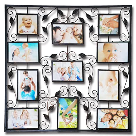 Amazon.com - Abbie Home Photo Frame 11 Opening Picture Collage ...
