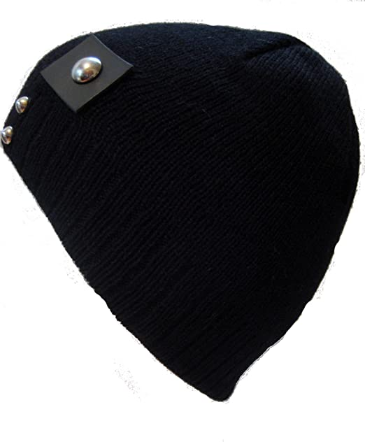 Frost Hats Winter Hat for Teens and Boys BLACK Skully Fit Beanie Warm  Knitted Hat Frost 45002de06b9
