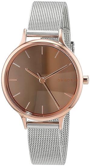 Skagen Reloj Analogico para Mujer de Cuarzo con Correa en Acero Inoxidable SKW2635: Amazon.es: Relojes