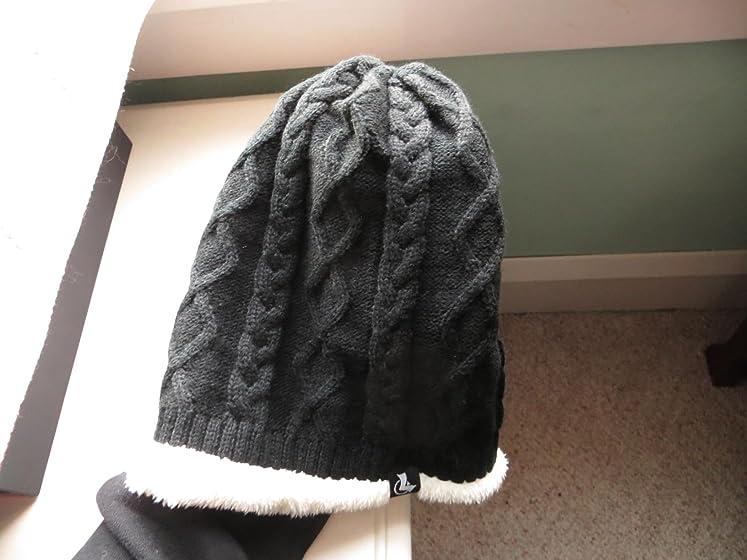 LETHMIK Winter Beanie Skull Cap Warm Knit Fleece Ski Slouchy Hat for Men & Women Warm & cozy with a high-quality look.