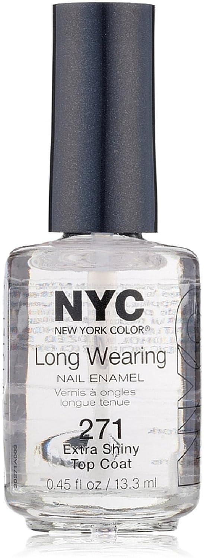 Amazon.com : N.Y.C. New York Color Long Wearing Nail Enamel, Extra ...