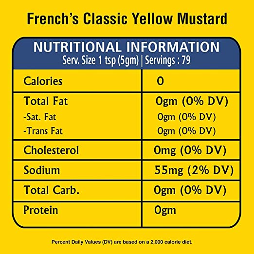 French's Classic Yellow Mustard, 14 oz