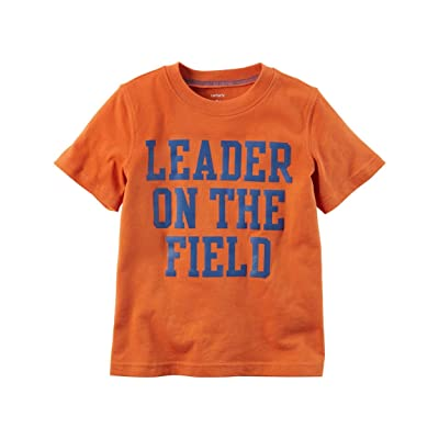 Carter's Little Boys' Leader On The Field Graphic Tee, 5-Kids