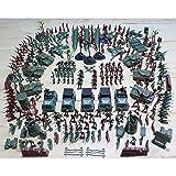 Ensunpal 307 Pcs/Set Army Soldier Toy Kits, World