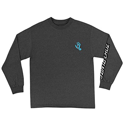 Santa Cruz Men's Screaming Hand Shirts   .com