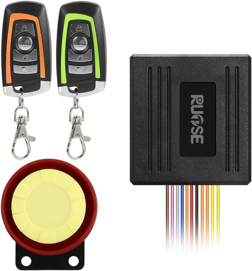 Alarma con Control remoto impermeable para motoscicletas-R7Q