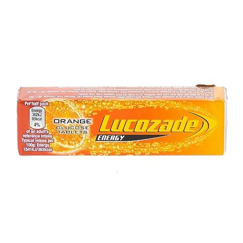 Lucozade Sport Tablets Orange Tube