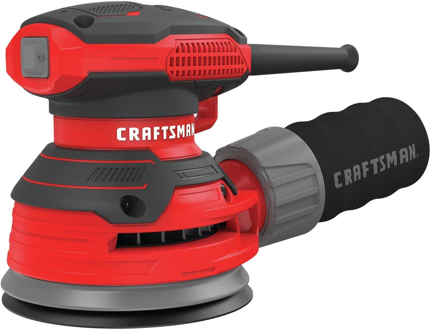 CRAFTSMAN Random Orbit Sander, 3-Amp, Corded CMEW231