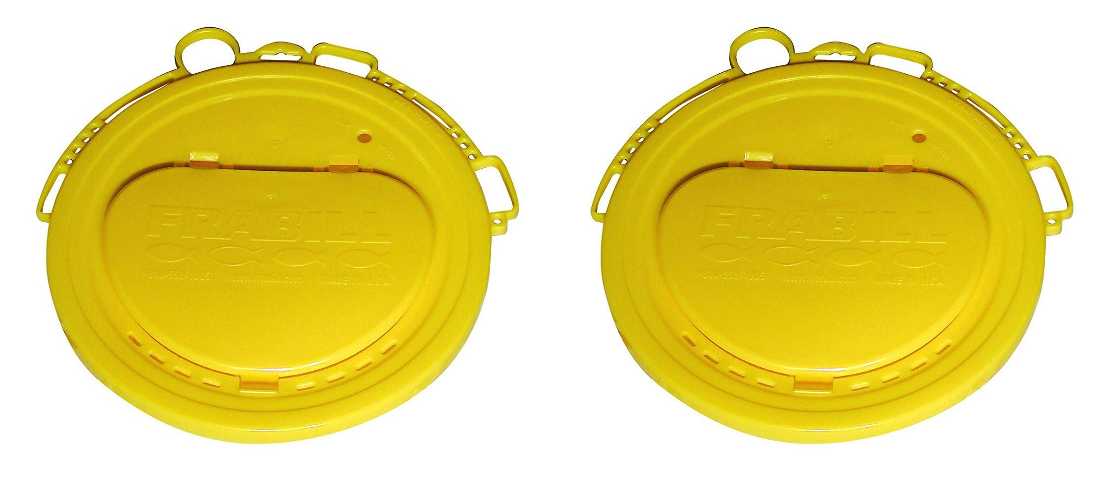 Frabill Deluxe Bait Bucket Lid (Тwо Расk) by Frabill