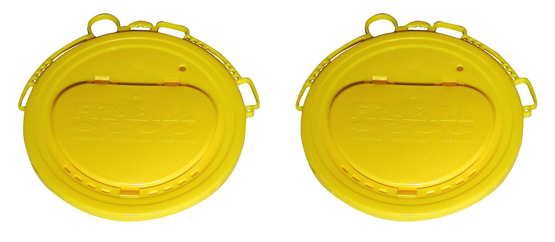 Frabill Deluxe Bait Bucket Lid (Тwо Расk)