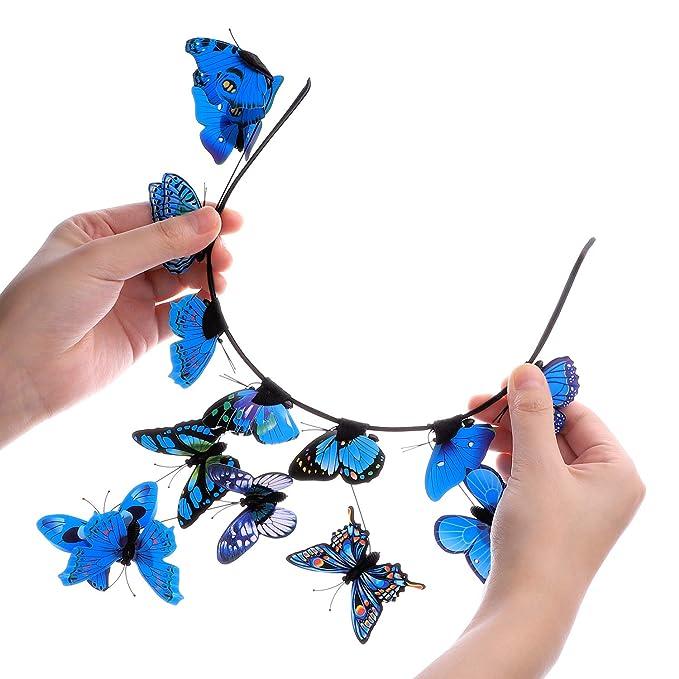 Women Fashion imitation soie bulle Plicated Hairband Serre-tête Cheveux Accessoires