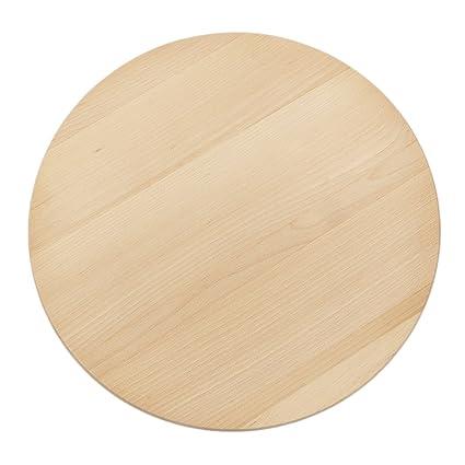 Plato para pizza (40 cm madera Plato Aparador para tartas Platos ...