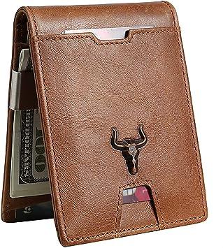 2017 Men/'s 100 Dollar Design Money Clip Wallet Pocket Leather Card Case Holder