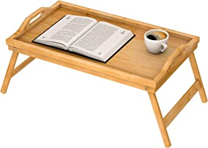 Breakfast Tray for Bed - Bed Tray for Eating, Food Tray for Eating on Bed, Breakfast in Bed Tray with Legs