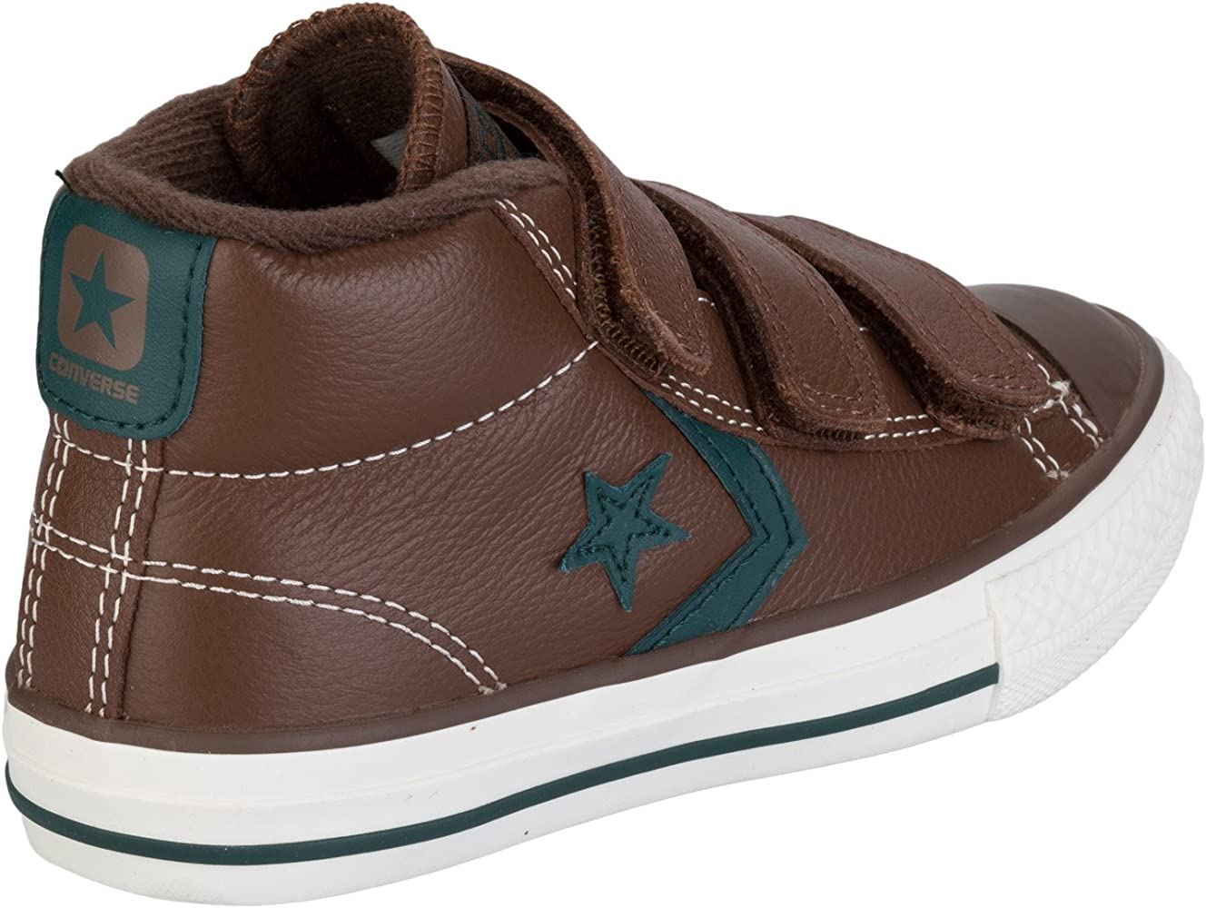 Converse Star Player 3V Leather Mid, Zapatillas Infantil