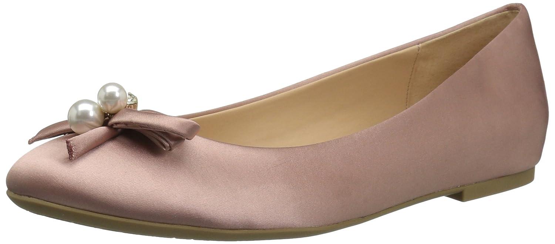 Badgley Mischka Jewel Women's Adeline Ballet Flat B06Y258BCT 8 M US|Blush