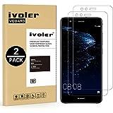iVoler [2 Pack] Pellicola Vetro Temperato per Huawei P10 Lite [Garanzia a Vita], Pellicola Protettiva, Protezione per Schermo