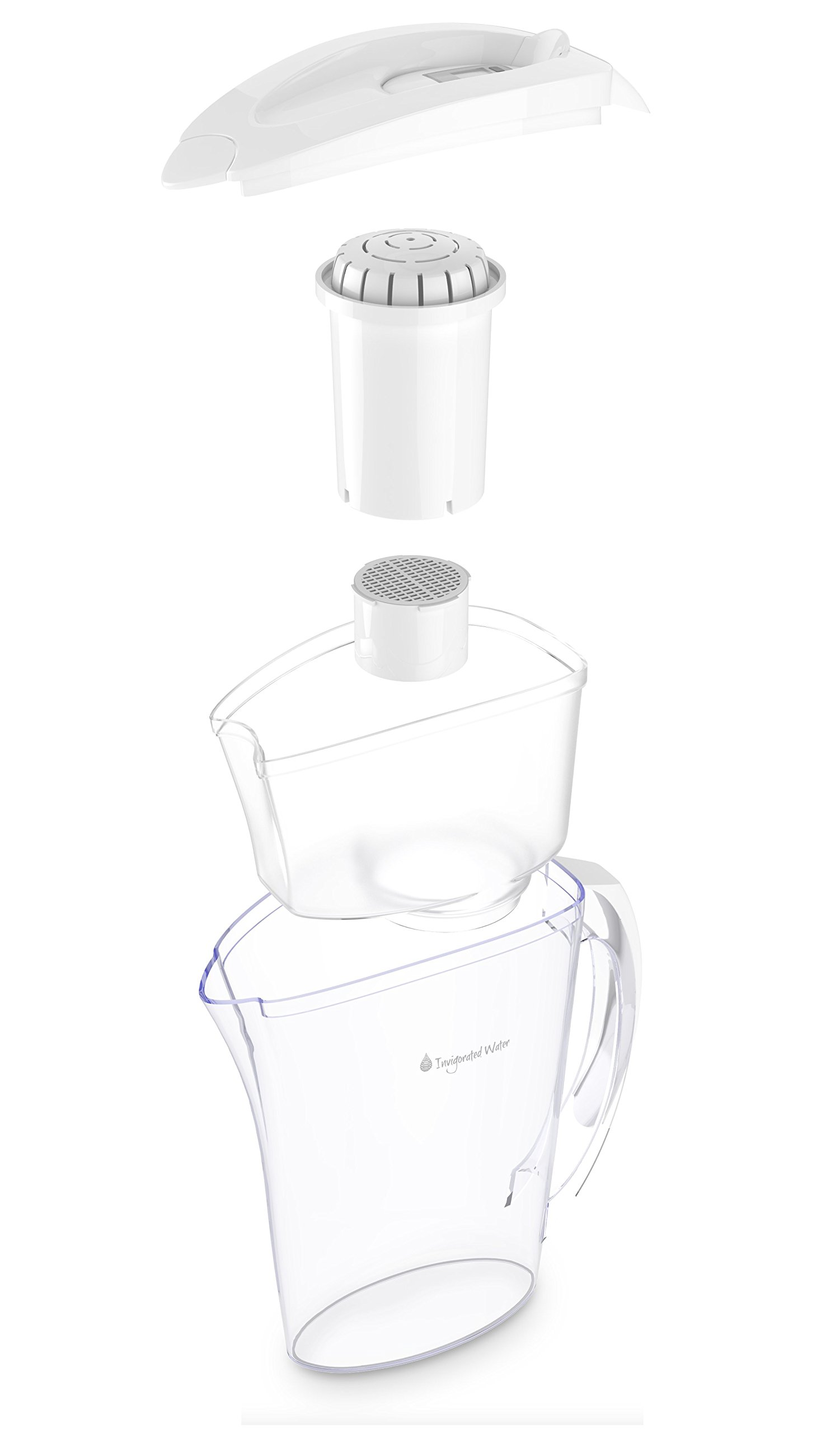Ph Refresh Alkaline Water Pitcher Ionizer With 2 Long Life