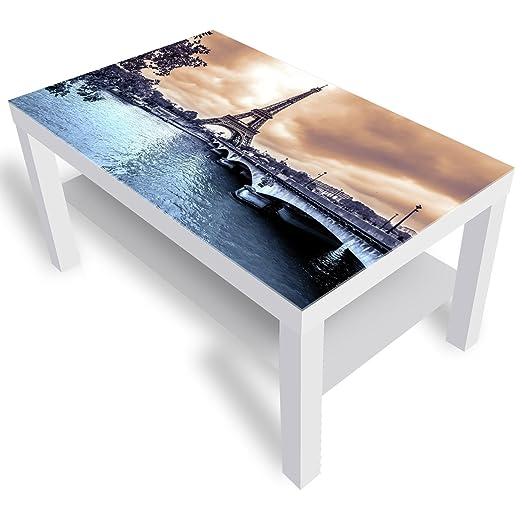 Tavolino Da Divano Ikea.Dekoglas Ikea Lack Tavolino Da Salotto Con Piano In Vetro
