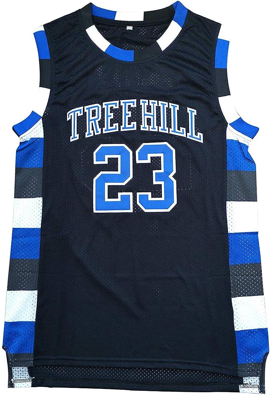 Nathan Scott Jersey One Tree Hill 23 Ravens Basketball Jersey Stitched Sport Movie Jersey Black S-3XL