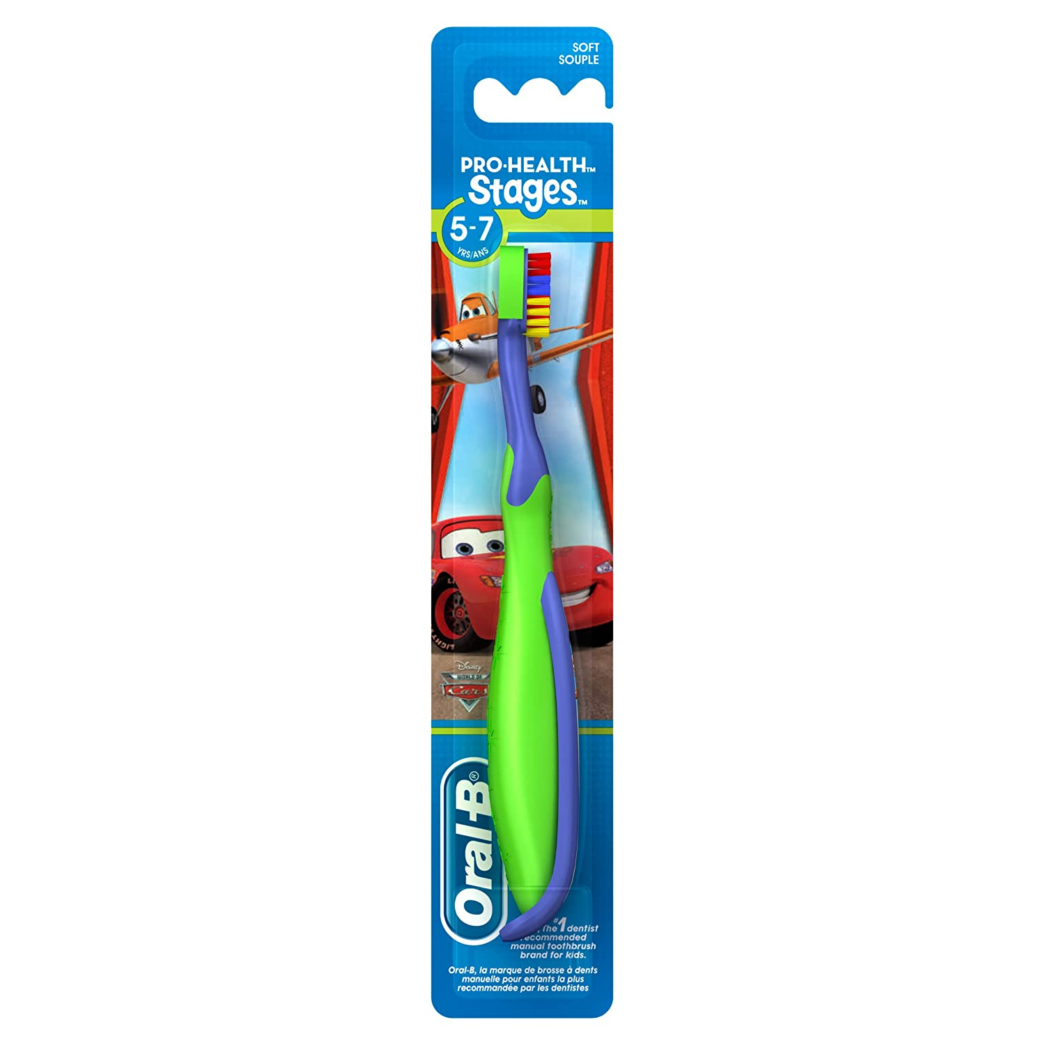 Oral-B Pro-Health Stages Manual Toothbrush Princess/Cars 5-7 Years Soft Oral B