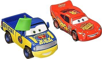 Disney Cars Pack de 2 veh�culos MCQUEEN & DEX: Amazon.es: Juguetes y juegos