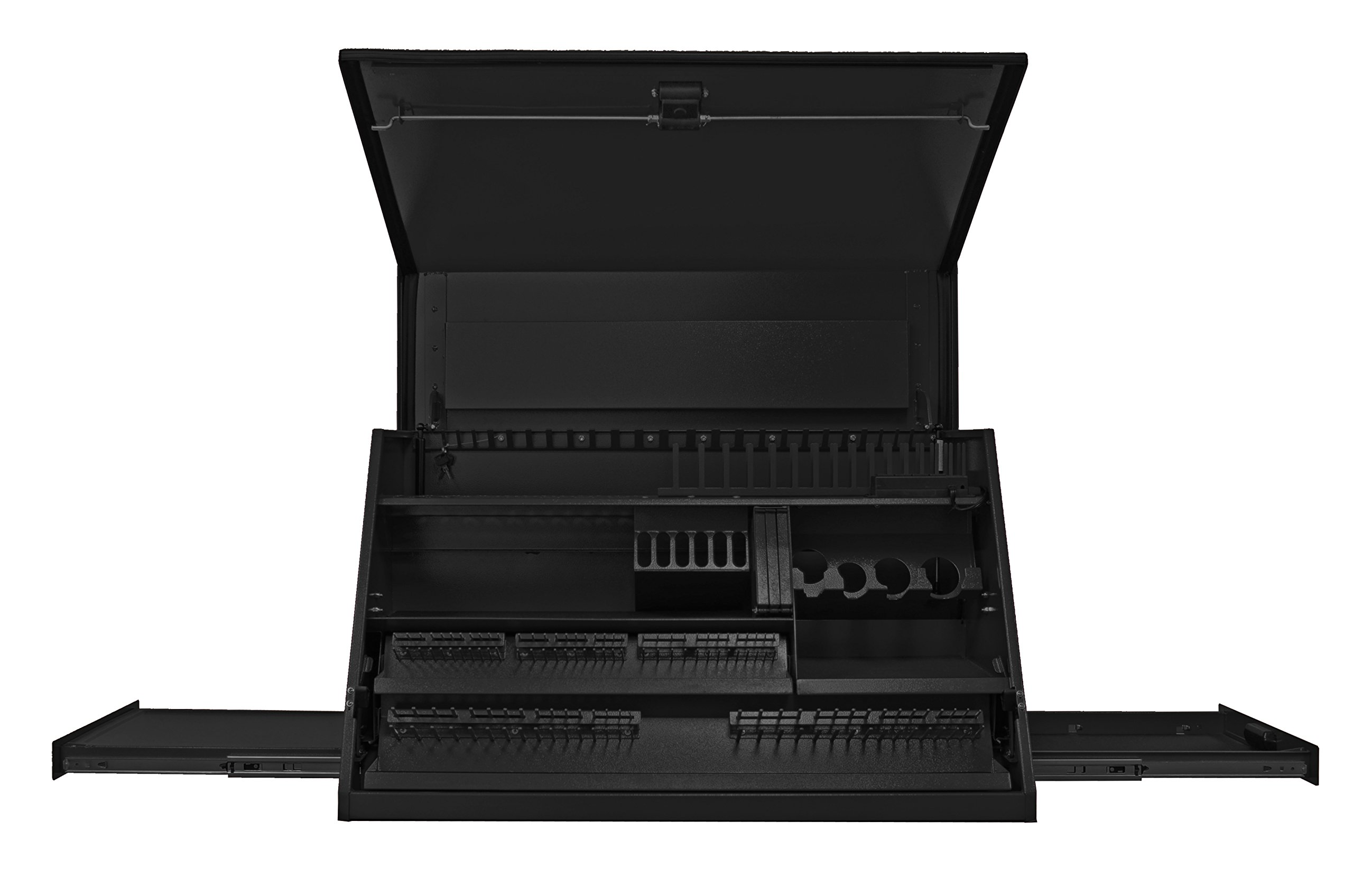 Extreme Tools PWS4105TXBK 3-Drawer 1-Shelf Deluxe Extreme Portable Workstation with Ball Bearing Slides, 41-Inch, Black Textured Finish