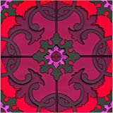 Images d'Orient Coasters, Sejjadeh Red, Set of 2