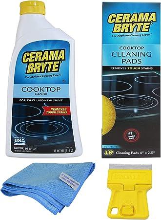 Amazon.com: Cerama Bryte Limpiador de vitrocerámica para ...