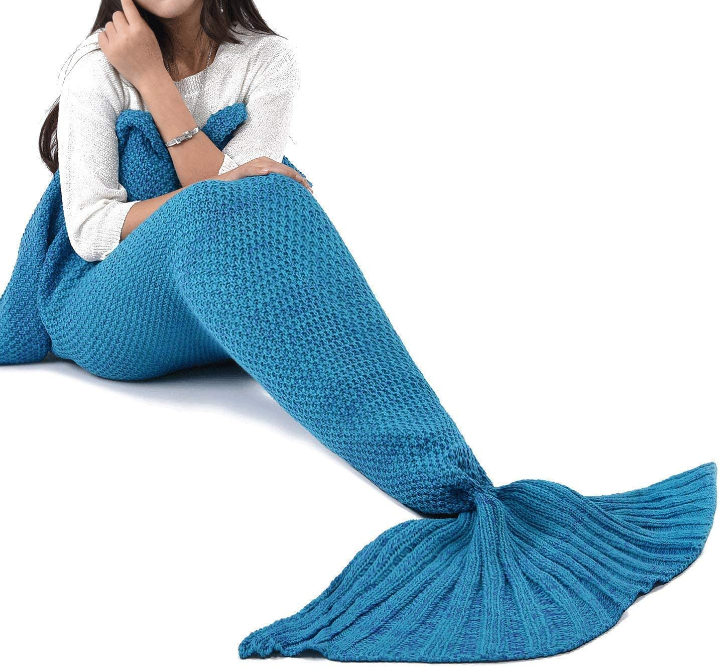 Top 10 Best Mermaid Tail Blankets (2020 Reviews & Buying Guide) 1