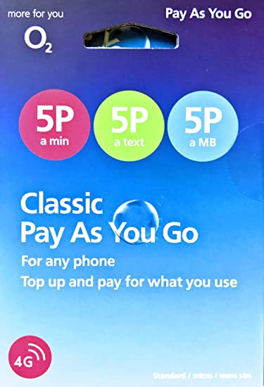 o2 phone deals pay as you go