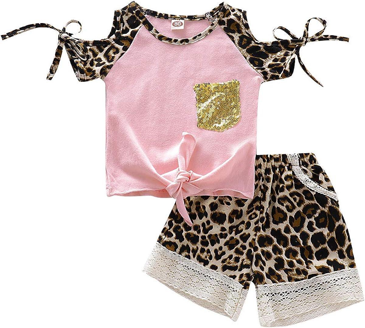 Toddler Baby Girl Outfits Clothes Baseball Sister Print Short Sleeve T-Shirt Tops Tassel Floral Short Pant Set