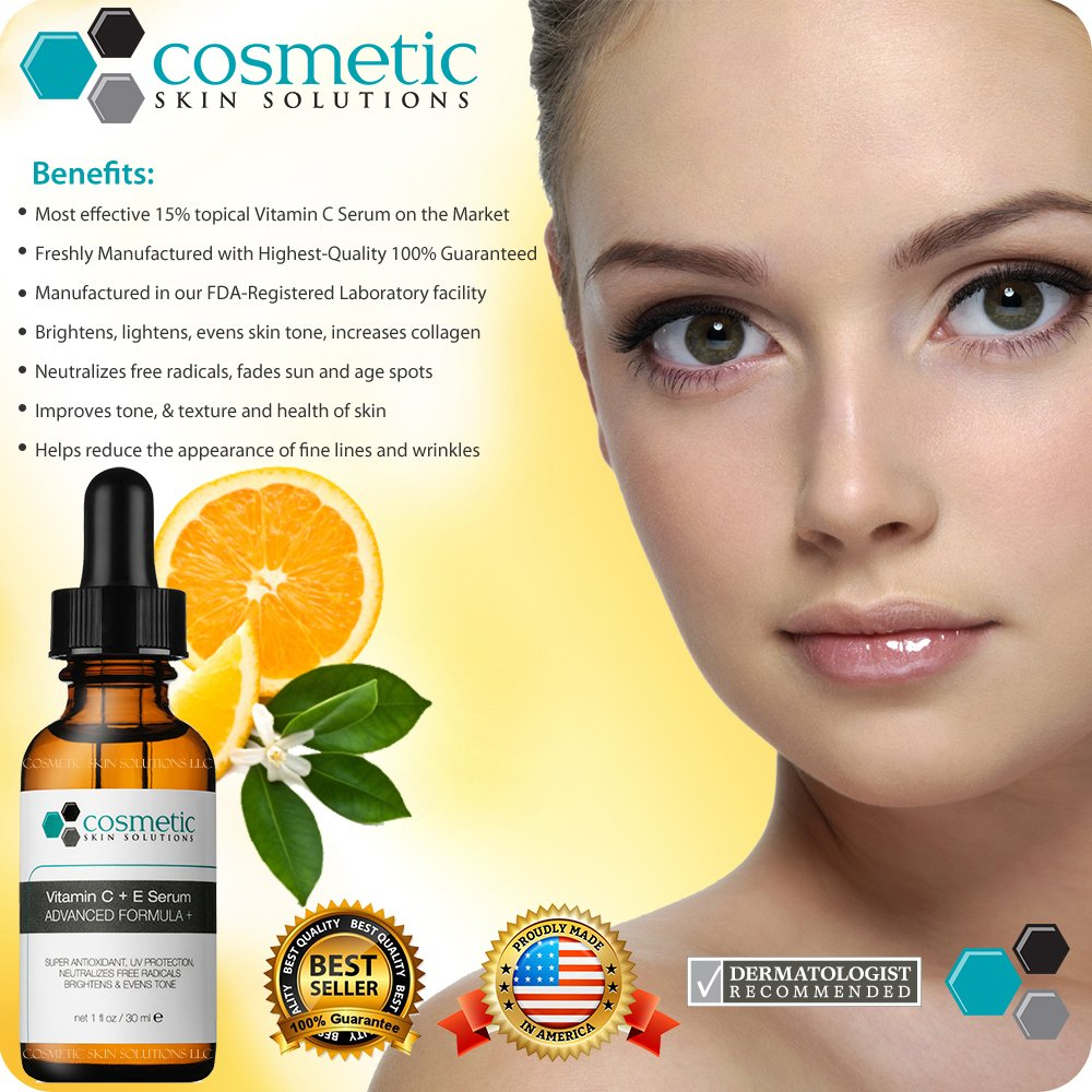 Amazon 1 best vitamin ce serum combination antioxidant amazon 1 best vitamin ce serum combination antioxidant treatment 1 oz 30 ml super combination antioxidant formula 15 vitamin c 1 vitamin e solutioingenieria Images