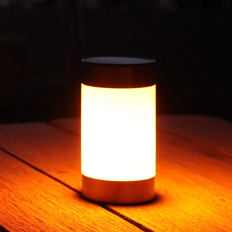 Frostfire Lazeflame Solarleuchte f/ür Garten und Tisch Flammeneffekt