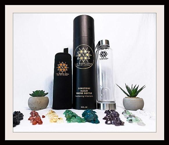 Amazon com: The Bodhi Lotus EAU DE GEMME Clear Quartz