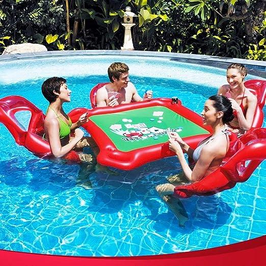 QYWSJ Fila Flotante de Agua Al Aire Libre, Juguetes ...