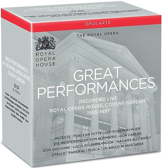 The Great Performances Collection.: Wolfgang Amadeus Mozart, Richard Wagner: Amazon.es: Música