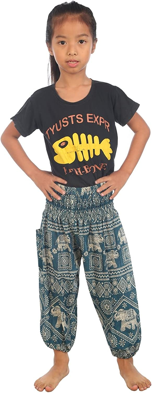 Lofbaz Baby Hippie Boho Hose Aladdin Pirate Bohemian Baggy Hosen