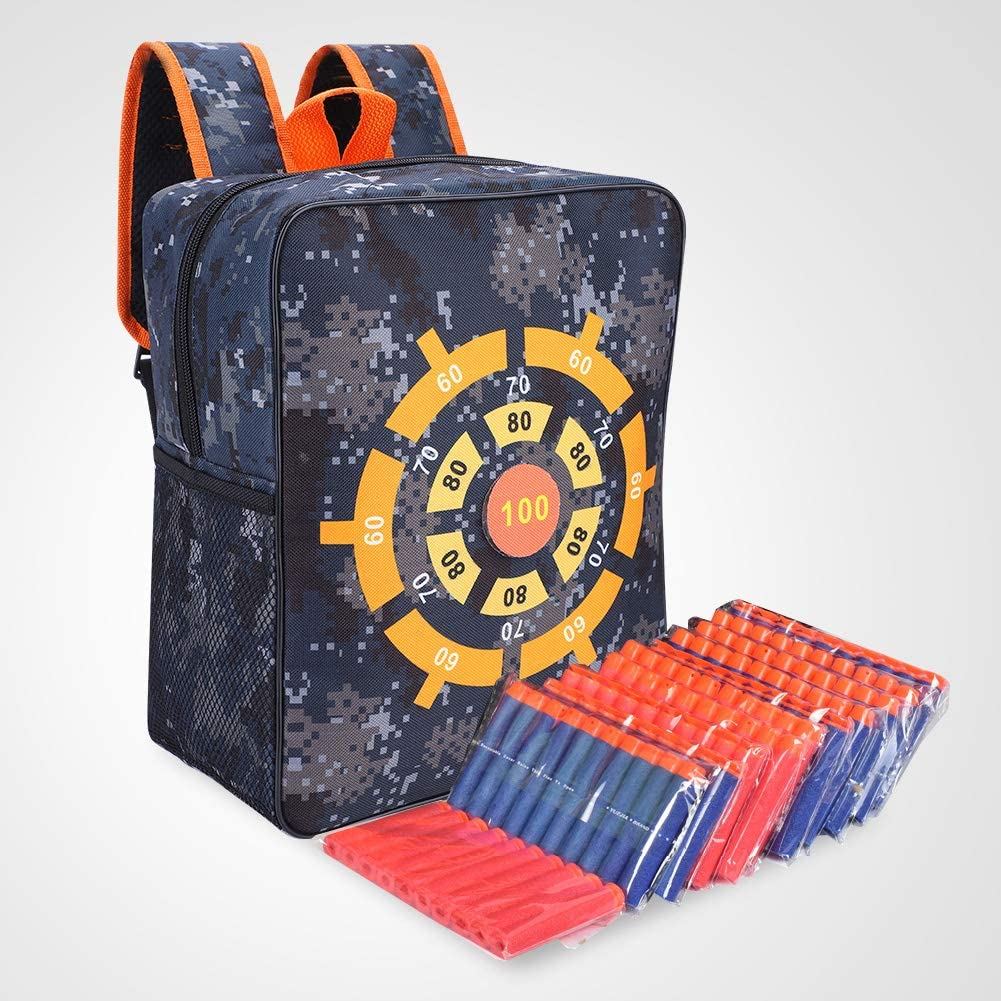 Mochila de T/áctico Bolso Impermeable para Almacenamiento de Balas Durable Kids Target Pouch Backpack Case