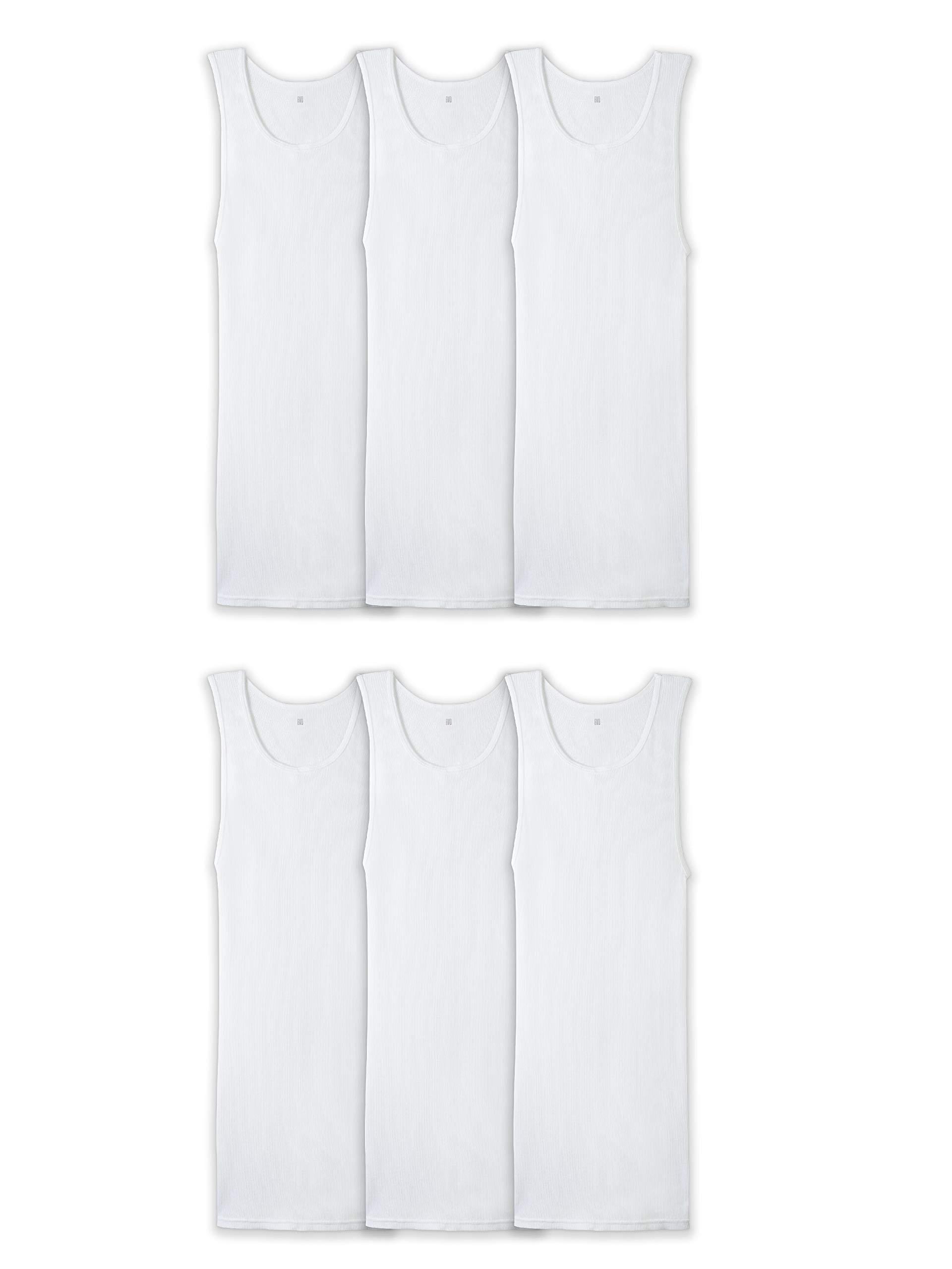BVD Men's Six-Pack A-Shirt