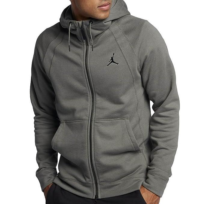 Sudadera capucha Jordan – Sportswear Wings Fleece Full-zip gris/negro talla: S