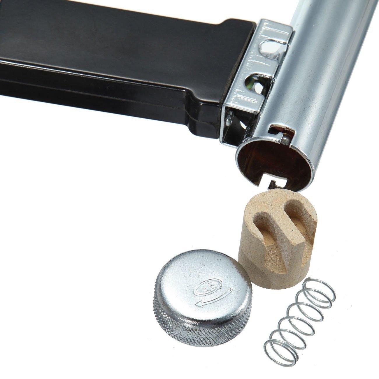Beyondlife 1080W Split Plastic Welder Welding Tool Heat Heating Gun Torch Hot Air Pistol PVC Welder Machine Tool Kit, with 1.5 meters hose (Lightweight, Flexible)