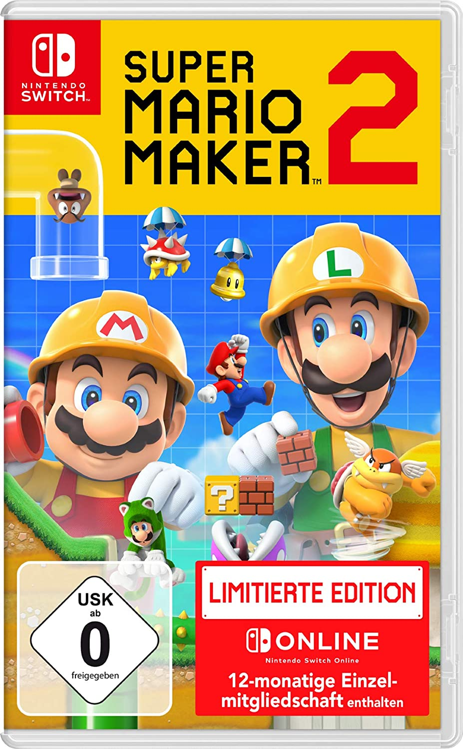 Super Mario Maker 2 - Limitierte Edition - Nintendo Switch ...