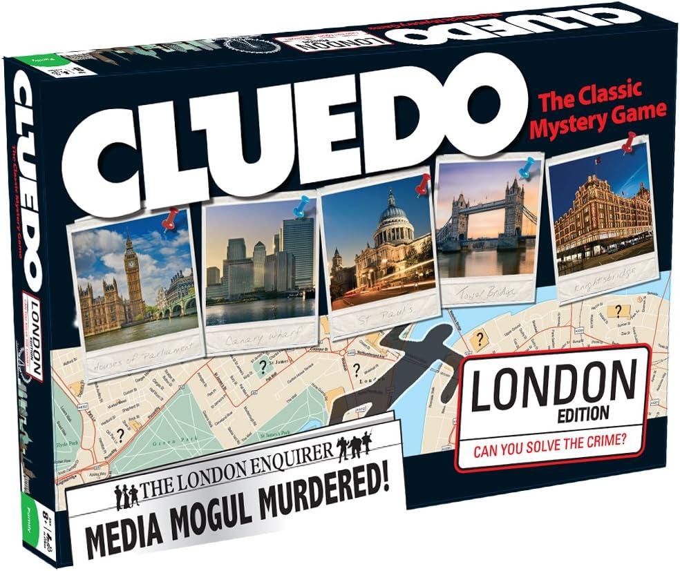 Cluedo - Juego de Misterio, 3 a 6 Jugadores (Winning Moves 19903) (versión en inglés): Amazon.es: Juguetes y juegos